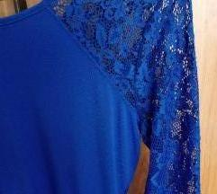 AKCIJA kraljevsko modra obleka