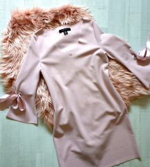 Baby roza obleka/tunika uni