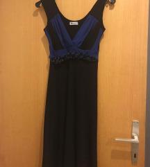Elegantna obleka z globokim izrezom