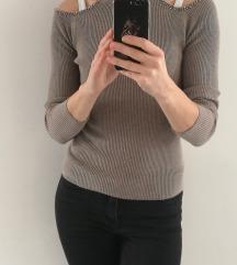 Rjav pulover