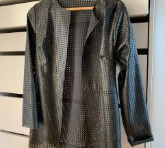 Čudovita, posebna usnjena jakna, blazer. UNI