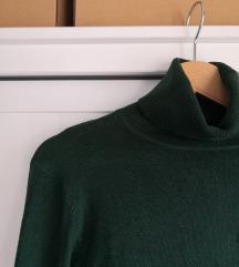 Temno zelen pulover - puli