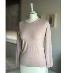Nežno roza pulover MANGO