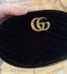 Gucci velvet belt bag org.