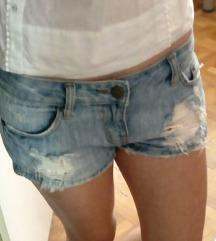 Ripped jeans kratke hlače hotke
