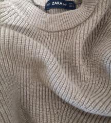 Bež pulover Zara