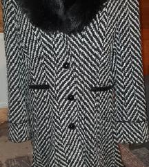 Zimski kvalitetni plašč LUNA-ZNIŽAN