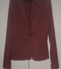 Nošen rožnat blazer