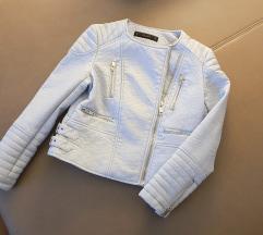 Nova usnjena jakna Zara, umetno usnje