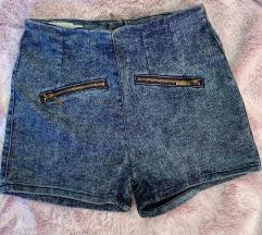 High waist kratke hlače