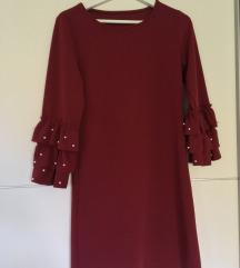 NOVA oblekca vinsko rdeča barva