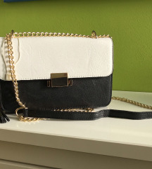 Črnobela torbica