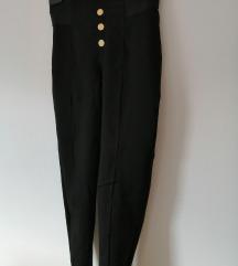 pajkice Zara črne z visokim pasom