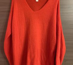 H&M - oversize pulover