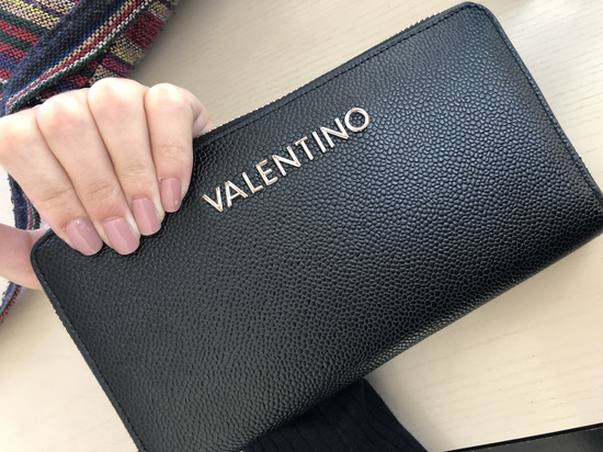 ČRNA VALENTINO DENARNICA