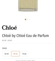 AKCIJA!!!!org parfum CHLOE EAU DE