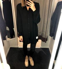 H&M črna dolga tunika