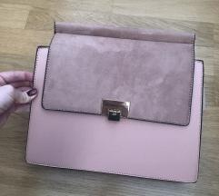 nude roza torbica