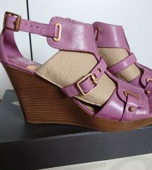 Geox poletni čevlji s polno peto 39