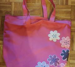 Roza torba z motivom rozic