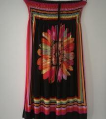 Pisana poletna obleka