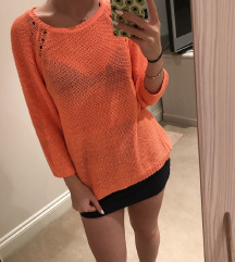 Pleten neon pulover S