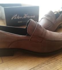 NOVI PEKO usnjeni elegantni moški čevlji št. 43