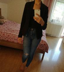 Črn eleganten blazer