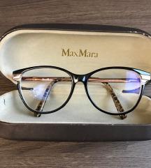 Korekcijska očala Max Mara+leče z dioptrijo