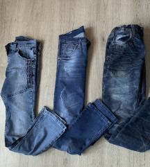 3x jeans za 7 eur (xs)