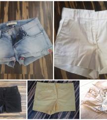 Komplet kratkih hlač xs/s