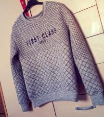 Topel podložen zimski pulover