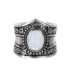 Prstan iz pravega srebra 925 z opalom