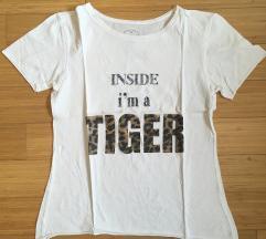 Bela majica Tezenis S