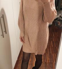 Pletena obleka / pulover, nova!