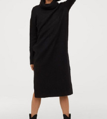 H&M nova pletena obleka