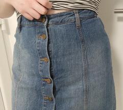 Jeans krilo - kot novo