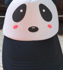 Šilt kapa panda