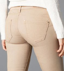 Nove bež hlače (XS)