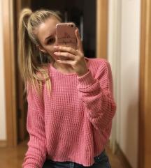 Roza oversized majica