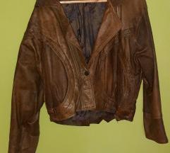 Usnjena vintage jakna