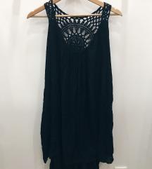 Črna dvoplastna oblekca