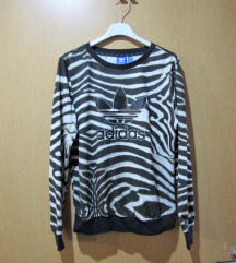 Adidas zebra-pulover (36-38)
