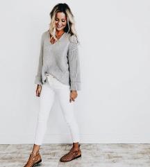 White skinny jeans Zara