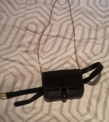 Majhna črna torbica - 2 stila nošenja