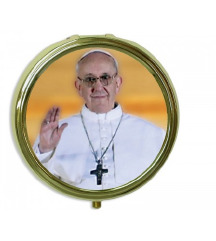 Kovinska šatulja Papež Frančišek