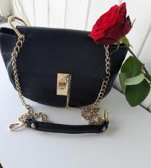Usnjena torbica Genuine leather (pravo usnje)