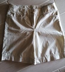 Bež kratke safari hlače