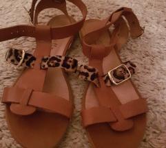 Sandali-celi usnjeni