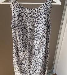 Poletna obleka z odprtim hrbtom Zara
